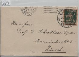 Pro Juventute 1916 J5 Berner Sennenbub - Zürich - Pro Juventute