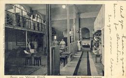 Gruss Von Dr. Lahmanns Sanatorium Weisser Hirsch Bei Dresden, 2 Scans - Dresden