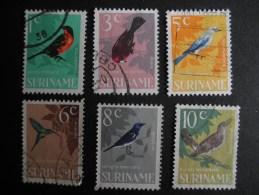 Suriname NVPH 439 , 441 , 442 , 444 , 445 , 446 - Surinam ... - 1975