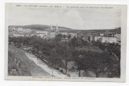 LA LOUVESC - N° 5600 - VUE GENERALE PRISE DU BOULEVARD DES ELEGANTS - CPA NON VOYAGEE - La Louvesc