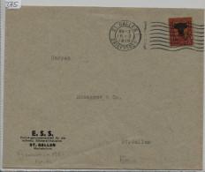 Pro Juventute 1918 J10 Uri - E.S.S. Stickerei Industrie St. Gallen - Pro Juventute