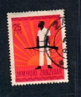 USED STAMP - Zanzibar (1963-1968)