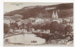 LA LOUVESC - N° 1843 - LE LAC DE GRAND LIEU ET LA VILLE - CPA NON VOYAGEE - La Louvesc