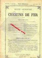 REVUE GENERALE CHEMINS DE FER ET TRAMWAYS- TRAMWAY- AVRIL 1913-N°4-DECAPOD NORD-SALZBOURG-MARIAZELL-ROUMANIE - Books, Magazines, Comics