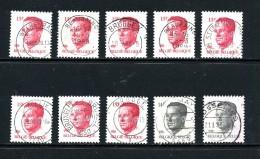 Belgique Velghe Sélection  2203 2352 ° - 1981-1990 Velghe