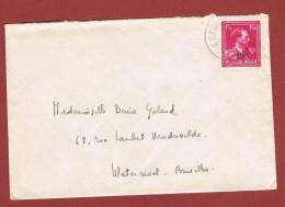 Brief Met .Leopold 3 Open Col 1,50 Fr Min 10 % Keerbergen - 1946 -10%