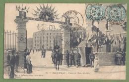 CPA - MEUSE - SAINT MIHIEL - CASERNE MAC-MAHON - 150ème De Ligne - L'entrée, Très Animée, Cavalier - éditeur A. Périchon - Saint Mihiel