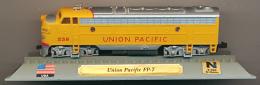 Locomotive : Union Pacific, FP-7, DelPrado, Echelle N 1/160, G = 9 Mm, USA, Etats-Unis - Locomotives