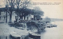 91 .  Essonne :  Morsang  ; Débarcadère   .  Hotel Restaurant Du Vieux Garcon . - Morsang Sur Orge