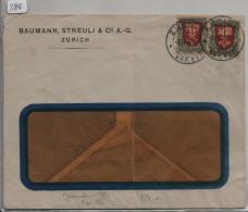 Pro Juventute 1919 2x J12 Nidwalden - Zürich - Pro Juventute