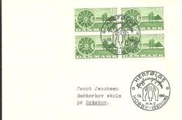 POSTMARKET  DANEMARK 1960 - Refugiados