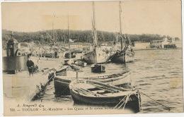 St Mandrier Les Quais Et Le Creux St Georges Urinoir Vespasiennes Latrines Publiques - Saint-Mandrier-sur-Mer