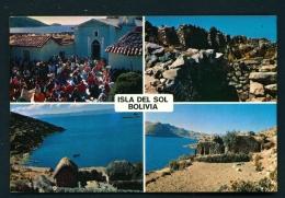 BOLIVIA  -  Isla Del Sol  Multi View  Unused Postcard - Bolivia