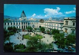 BOLIVIA  -  La Paz  Plaza Murillo  Unused Postcard - Bolivia