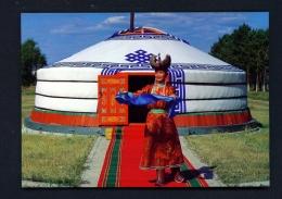MONGOLIA  -  Yurt  Unused Postcard - Mongolia