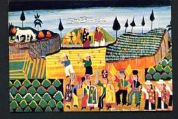 ECUADOR  -  Tigua  Aboriginal Art  Unused Postcard - Ecuador