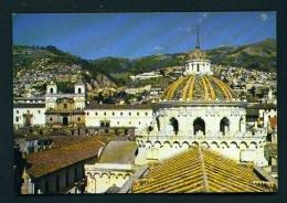 ECUADOR  -  Quito  San Francisco Church  Unused Postcard - Ecuador