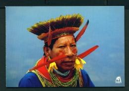 ECUADOR  -  Cofan Indian  Unused Postcard - Ecuador