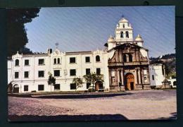 ECUADOR  -  Quito  Guapulu Church  Unused Postcard - Ecuador