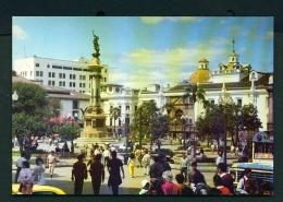 ECUADOR  -  Quito  Independence Monument  Unused Postcard - Ecuador