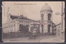 = Carte Postale Saint Jean De Luz, Le Casino, Inscription Chocolat Louis à L'emplacement Du Timbre - Saint Jean De Luz