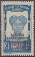 N° 111 - X X - ( C 587 ) - Gabon (1886-1936)