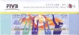 Macau 2016 FIVB Volleyball World Grand Priz Stamp Set - Ongebruikt