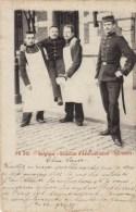 Carte PR. 345 - Belgique - Bataillon D'Administration - Infirmiers - 1900 - Uniformes