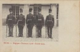 Carte PR. 354  - Belgique -  Chasseurs à Pied - Grande Tenue - Uniformes