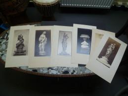Photographie Artistique De Hulot. 7 Grandes Photos Collée Sur Carton Fort. - Photos