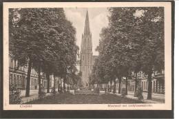 Krefeld. Westwall Mit Liebfrauenkirche. Postes Militaires Belgique 1919 - Krefeld