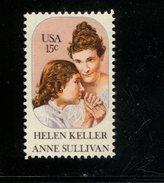 206188267 USA 1980 POSTFRIS MINT NEVER HINGED POSTFRISCH EINWANDFREI SCOTT  1824 Hellen Keller - Unused Stamps