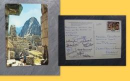 BASKET-BALL Féminin, équipe De France Mythique V 1972 CP Pérou Avec 10 Autographe (Chazalon, Etc) ; Ref198  VP 15 - Autographs