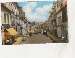 CPSM P.F. -  89 -  VILLENEUVE-SUR-YONNE - Rue Carnot Et Porte De Sens - 4 Cv - 043 - Villeneuve-sur-Yonne
