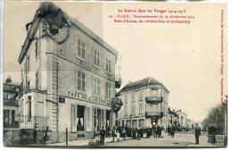 - Saint-Die - 1914, La Guerre Dans Les Vosges, Cachet Militaire Du 115 éme Rgt  Territorial, Belle, écrite, TBE, Scans. - Saint Die