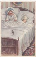 Kinder Im Bett (die Maus Muss Weg - Hilfe Einen Maus) Signiert E. Colombo - Colombo, E.