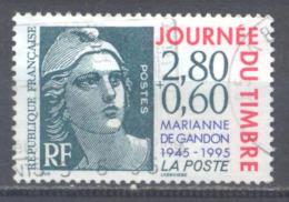 France YT N°2933 Journée Du Timbre 1985 Marianne De Gandon Oblitéré ° - France