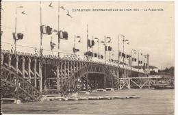 3081. CPA EXPOSITION LYON 1914. LA PASSERELLE - Expositions