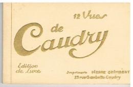 Carnet De Douze Cartes CAUDRY - Caudry