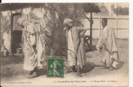 3085. CPA EXPOSITION LE MANS 1911. LE VILLAGE NOIR. LE SALAM. - Expositions