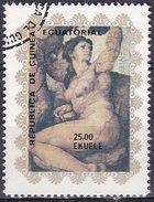 Guinea Equatoriale, 1975 - 25e Michelangelo - Usato° - Guinea Equatoriale
