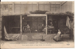 3090. CPA EXPOSITION CLERMONT FERRAND 1910. PETITES INDUSTRIES RURALES... - Expositions