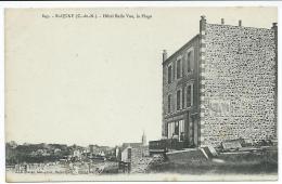 Saint QUAY, 22:  Hôtel BELLE VUE, La Plage. N°843.  CPA En Excellent état - Saint-Quay-Portrieux