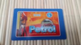 Prepaidcard Petrol  Used - Télécartes