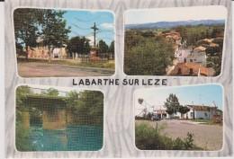Haute  Garonne :   LABARTHE  Sur   LEZE   : Vues  1970 - Francia