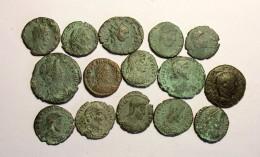 Lotto 15 Monete Romane Imperiali - 6. The Tetrarchy (284 AD To 307 AD)