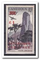 Kameroen 1961, Postfris MNH Type I, Mountain Landscape, Airplane - Kameroen (1960-...)