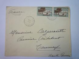 ENVELOPPE  Au Départ De  CANALA  Nouvelle-Calédonie  à Destination De  TOURNAY  1932   - Briefe U. Dokumente