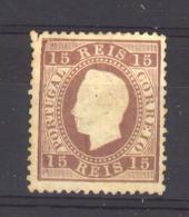 05287 -   Portugal :  Yv  38A  (*)    Dentelé 12 1/2 ,  Papier Ordinaire - 1862-1884 : D.Luiz I