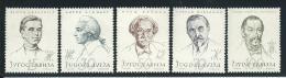 YOUGOSLAVIE: **, N°736 à 740, TB - 1945-1992 République Fédérative Populaire De Yougoslavie